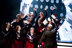 """""""Przeklnij mnie"""" Fot. Teatr Syrena (zdjęcie z premiery rodzinnej)"""