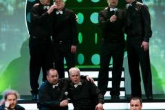 Panowie zaczynają finał. Fot. Teatr Syrena