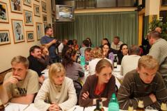 Przemili gospodarze z chóru Polifonica Materana zaprosili nas na kolację. Foto: Piotr Maculewicz