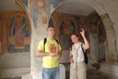 Ukryta w wąwozie niewielka krypta powstała w V w., zaś obecne freski wykonano w XI-XIII w. Foto: Krzysztof Chojnowski