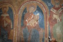 Matka Boska z Jezusem, obok św. Bazyli i św. Mikołaj. Foto: Jerzy Ratajczak