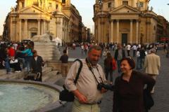 Piazza del Popolo. Foto: Piotr Maculewicz