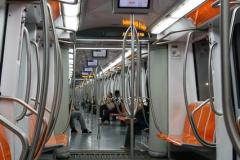 ...i mają tu tylko jedną linię metra więcej, niż w Warszawie,... Foto: Piotr Maculewicz