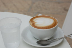...a także pyszna włoska kawa... Foto: Andrzej Borzym