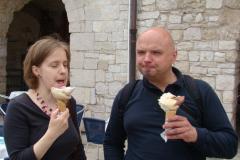 ...i prawdziwe włoskie lody. Foto: Jan Dzierżek