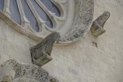 Katedra w Trani - fragment rozety. Foto: Piotr Maculewicz