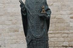 Św. Mikołaj, patron miasta i całej Apulii. Foto: Andrzej Borzym