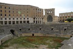 Lecce - starożytny amfiteatr w centrum miasta... Foto: Jerzy Ratajczak
