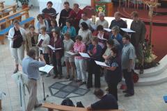 …zaśpiewaliśmy… Foto: Artur Mikołajewski
