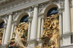 Jedna ze sławnych wiedeńskich galerii sztuki – chyba robią sprzątanie? Foto: Iwona Januszkiewicz-Rębowska