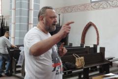 Próba z mistrzem batuty, Andrzejem Borzymem. Foto: Ancja Łabuszewska