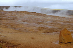 Pole gejzerów w poblizu wodospadu Gulfoss, najczęściej odwiedzane przez turystów. Foto: Anna Potapowicz