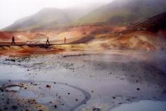 Bláa lónidh, czyli Błękitna Laguna, to przykład sił natury ujarzmionych przez człowieka. Foto: Andrzej Borzym jr