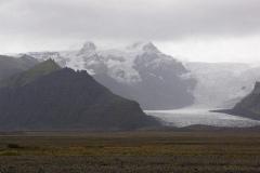 Lodowa czapa Vatnajökull, trzecia co do wielkosci na świecie po Antarktydzie i Grenlandii,... Foto: Andrzej Borzym jr
