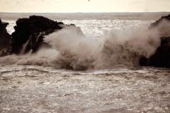 ...rozpędzone fale północnego Atlantyku... Foto: Anna Potapowicz