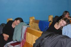 Następnego dnia: odpoczynek przed popołudniowym koncertem... Foto: Iwona Januszkiewicz-Rębowska