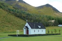 Mały drewniany kościółek,... Foto: Maria Boratyńska