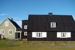 Muzeum Ludowe w Eyrarbakki mieści się w dawnym domu bogatego duńskiego kupca. Foto: Piotr Maculewicz
