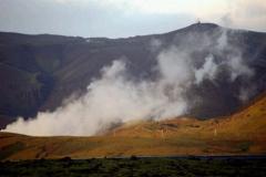 Dym, czyli gorące źródła, czyli jedna z elektrowni pod Reykjavíkiem. Foto: Anna Potapowicz