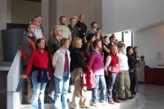 Wystąpiliśmy jeszcze w hallu Muzeum Narodowego w Reykjavíku. Foto: Krzysztof Chojnowski
