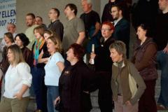 Dla zaskoczonych nieco gości muzeum i pracującej tam przemiłej Polki, dzieki której poznaliśmy wiele szczegółów islandzkiej historii, zaśpiewaliśmy kilka piosenek Starszych Panów. Foto: Anna Potapowicz