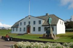 Siedziba islandzkiego rządu. Foto: Anna Potapowicz