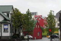 Domy starego Reykjavíku. Foto: Piotr Gawroński