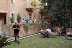 ...mają piękną siedzibę w postkolonialnej dzielnicy Heliopolis. Foto: Anna Potapowicz