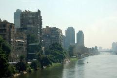 Nowoczesne centrum na brzegiem Nilu. Foto: Anna Potapowicz