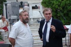 Dr Zbigniew Szafrański i Andrzej Borzym ustalają szczegóły. Foto: Piotr Maculewicz
