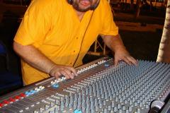Reżyser dźwięku przy pracy - Gruby spisał się na medal. Foto: Piotr Maculewicz