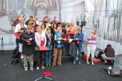 …próbujemy przed finałowym koncertem XXX Lidzbarskich Wieczorów Humoru i Satyry. Foto: Piotr Węgiełek