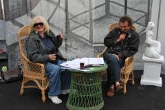 …Magda Umer i Andrzej Poniedzielski. Foto: Piotr Węgiełek
