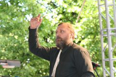 Andrzej Borzym, którego ręce błogosławią i prowadzą; Fot. Piotr Boratyński