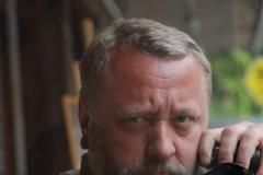 Andrzej Borzym autoportretyzujący; Fot. Andrzej Borzym