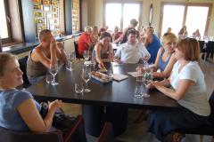 …zamówiliśmy degustację kilku tutejszych win. Fot. Anna Potapowicz