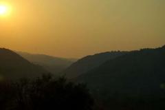 …na tle zachodzącego bałkańskiego słońca. Fot. Anna Potapowicz