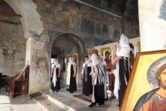 """W niemal 1000-letnim wnętrzu soboru św. Zofii zaśpiewał najpierw chór """"Fresco"""" z rosyjskiego Jekatrynburga,… Fot. Iwona Januszkiewicz-Rębowska"""