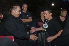 Po ostatnim występie – podziękowania dla naszego macedońskiego Cicerone. Petar, było świetnie, także dzięki Tobie! Fot. Artur Mikołajewski