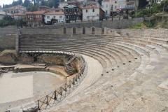 Gdzieś wyżej – amfiteatr z III w. n.e. Fot. Ancja Łabuszewska