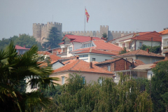 Nad starą częścią miasta góruje twierdza cara Samuela (X-XI w.). Fot. Anna Potapowicz