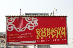 Wszystkie drogi w Ochrydzie prowadzą na festiwal chóralny. Fot. Ancja Łabuszewska