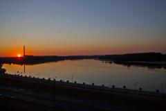 Wschód słońca nad Dunajem. Fot. Artur Mikołajewski