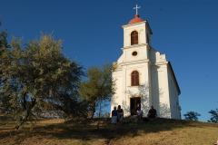 …ale doszliśmy – pod kaplicę na wzgórzu Hevi. Fot. Anna Potapowicz