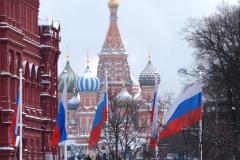 Mroźną styczniową porą trafiliśmy do Moskwy. Fot. Piotr Węgiełek
