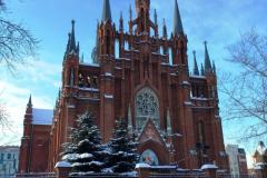 W niedzielny ranek w katolickiej katedrze Moskwy pierwszy muzyczny punkt naszej wyprawy:... Fot. Katarzyna Jankowska
