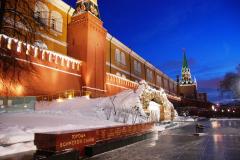 Pójdźmy w kierunku pięknie oświetlonego Kremla... Fot. Piotr Węgiełek