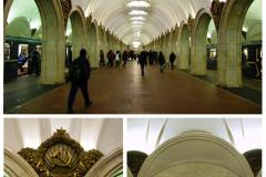 Wśród tych najstarszych stacji (metro budowano od 1935 r.) jest m.in. Paweleckaja na linii Zamoskworieckiej (nazwy linii są bardziej popularne niż numery), otwarta w 1943 r. Fot. Piotr Węgiełek