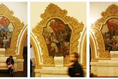 ...na której 18 mozaik opowiada o historii Ukrainy oraz przyjaźni narodów rosyjskiego i ukraińskiego. Fot. Piotr Węgiełek