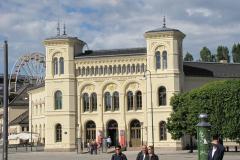 Tuż obok – Centrum Pokojowej Nagrody Nobla, wręczanej przez Norwegów, a nie Szwedów, jak pozostałe Noble. Foto: Piotr Maculewicz